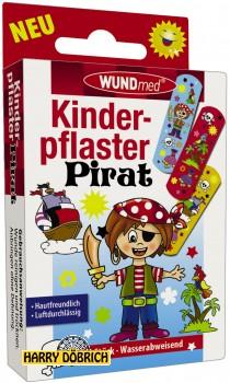 Kinderpflaster Pirat 10er