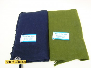 Fleece-Schal farbig sortiert