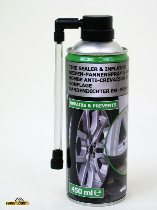 Reifen Pannenspray/Pumpe 450ml