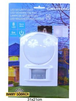 Sicherheitslicht Grundig 8 LED