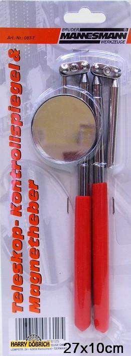 Magnetheber mit Kontrollspiegel Set
