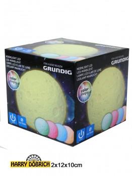 Lampe Mond ca. 12cm farbwechsel