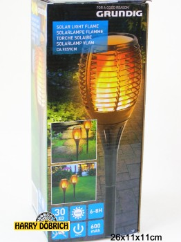 Solarlampe Flamme 59cm