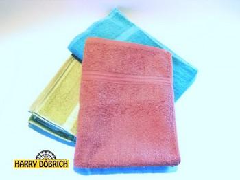 Waschhandschuh 15x21cm Baumwolle sortiert