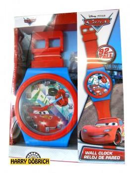 Disney Cars Wanduhr 92cm