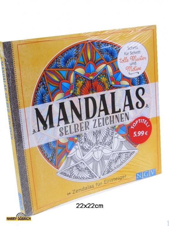 Buch Mandalas zum selber zeichnen