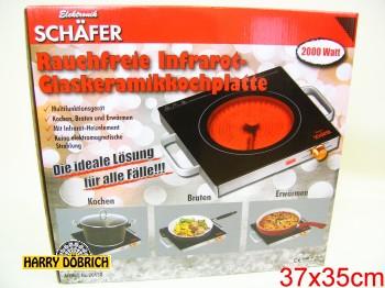 Infrarot Kochplatte 2000W