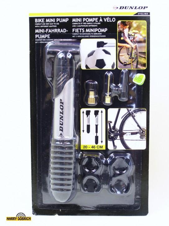 Fahrradpumpe mit Rahmenhalter