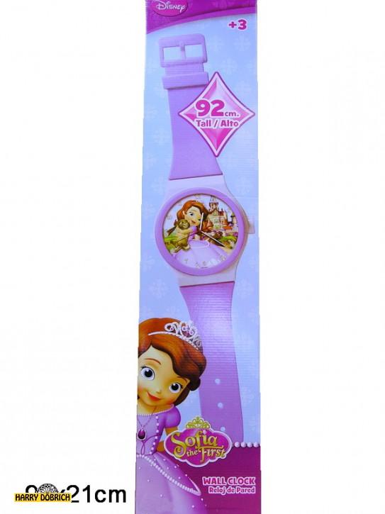 Disney Sofia Wanduhr mit Armband