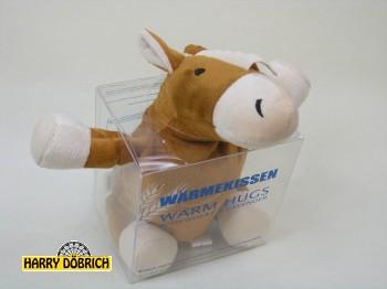 Wärmekissen Pferd 25cm Weizenfüllung