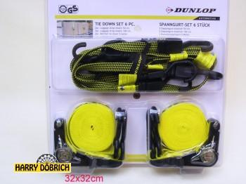 Spanngurtset 6tlg Dunlop