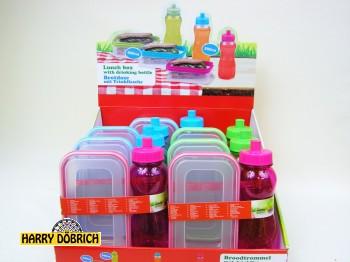 Lunchbox mit Flasche 0,5ltr.