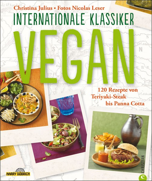 Kochbuch Vegan Internationale Klassiker