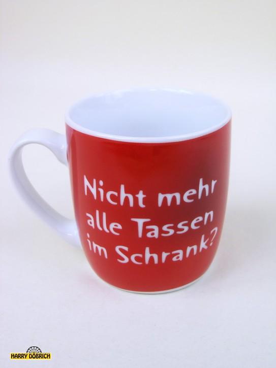 Kaffeebecher 310ml Nicht alle Tassen...
