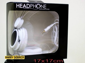 Kopfhörer weiß verstellbar