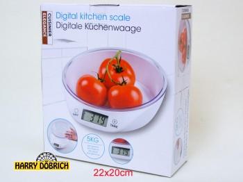 Küchenwaage digital 5kg