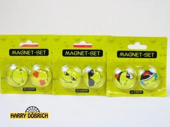 Magnetset Smiley