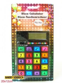 Taschenrechner Disco 14x10cm
