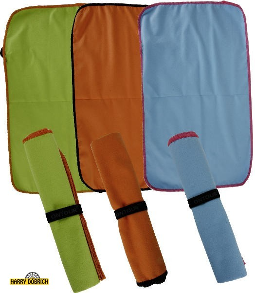 Handtuch Microfaser 100x50 3-fach sortiert