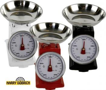 Küchenwaage bis 5kg 3 Farben sortiert