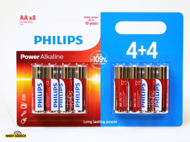 Batterie AA Philips 8er Powerlife
