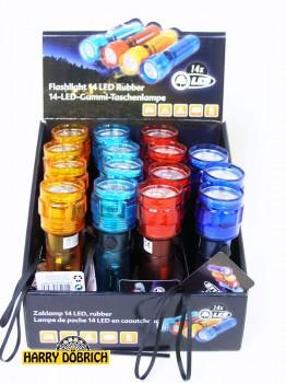 Taschenlampe 14 LEDs  4-fach