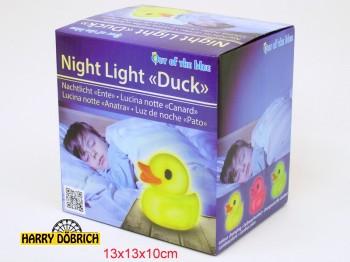 Nachtlicht Badeente ca. 13cm in GK farbwechselnd