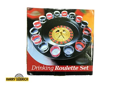 Trinkspiel Roulette 29x29cm