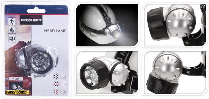 Kopflampe 7 LED