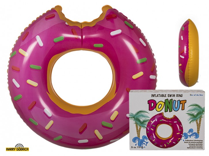 Schwimmring Donut pink 119cm GK