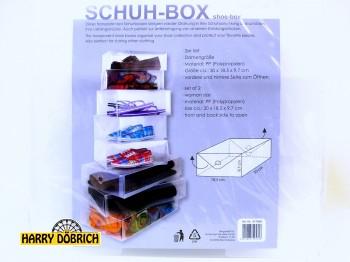 Schuhbox 2erSet Damengröße