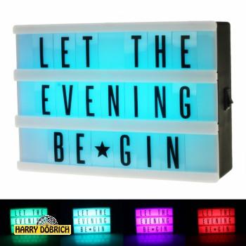 Leuchtbox A6  Colourpower