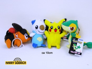 SK-Pokemon Plüsch ca. 10cm 4-fach sortiert