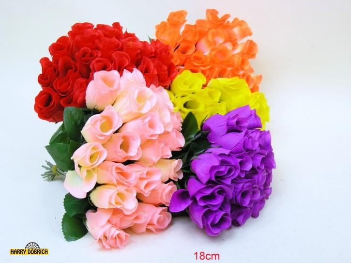 Heckenrose 18cm 4 Farben