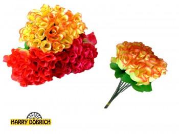 Rose 33cm 6-fach sortiert