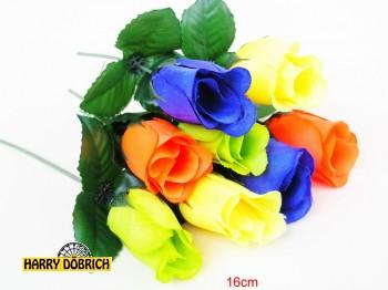 Heckenrose 16cm neonfarben sortiert