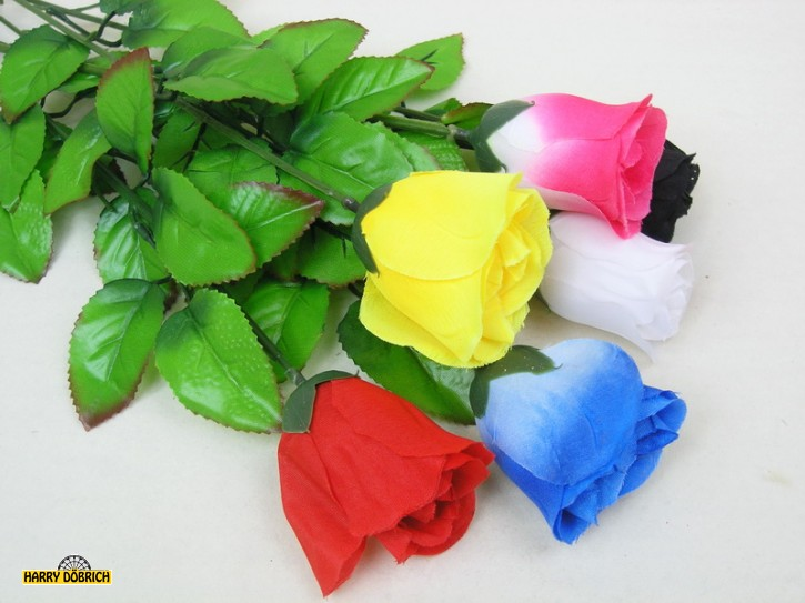 Baccararose 65cm 6 Farben
