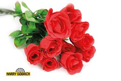 Baccara Rose 65cm rot