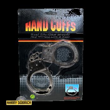 Handschellen Metall auf Karte