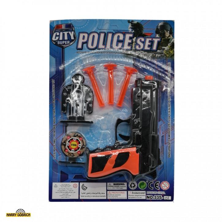 Pfeilpistole Police Set