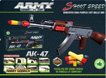 Gewehr AK47 Softmunition