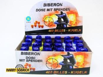 Kugelmunition 400er weiss/schwarz/gelb