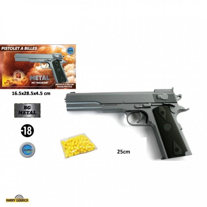 Kugelpistole Metall 25cm
