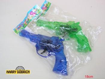 Ratterpistole 18cm grün/blau sortiert