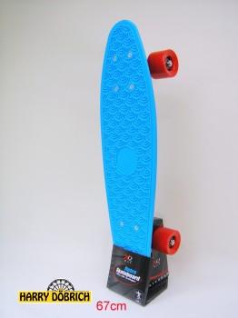Skateboard 57cm blau