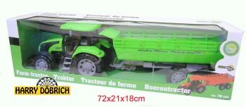 Traktor mit Hänger 70cm 2-fach sortiert