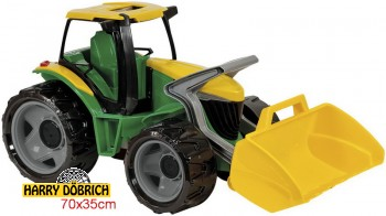 Starke Riesen Traktor mit Frontlader