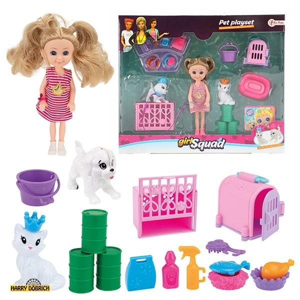 Puppenspielset Girls Squad