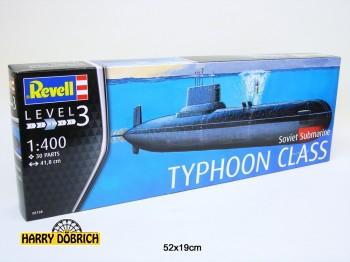 Revell U-boot Typhoon Class