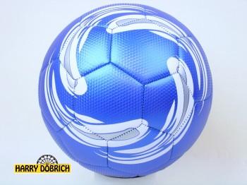 Fußball Cosmic blau/silber